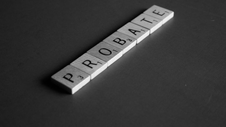 Applying for a probate as an Executor